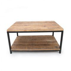 salontafel industrieel 80x80 cm